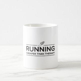 Running is Cheaper than Therapy Magic Mug