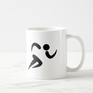 Running is Life - White Coffee Mug