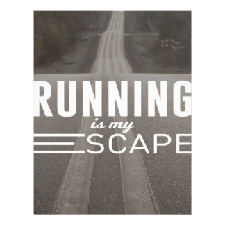 Running Is My Escape Letterhead