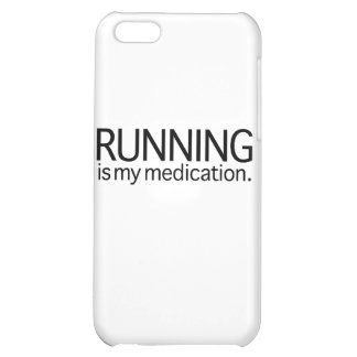 Running Is My Medication iPhone 5C Case