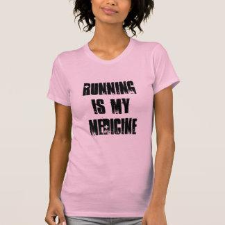 Running is my medicine tanktops