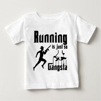 Running is so Gangsta Baby T-Shirt