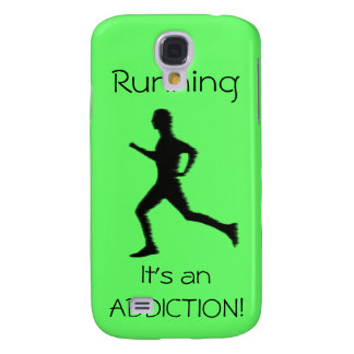 Running - It's an ADDICTION! iphone3 Samsung S4 Case