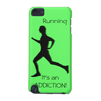 Running - It's an ADDICTION ipod touch iPod Touch 5G Case