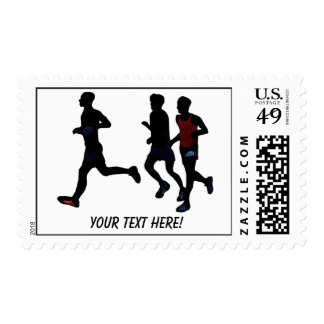 Running Jogging Event Sports Stamps