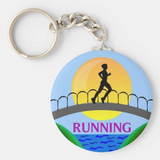 RUNNING KEYCHAIN