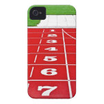 Running Lanes on the Track iPhone4 Case-Mate ID Case-Mate iPhone 4 Case