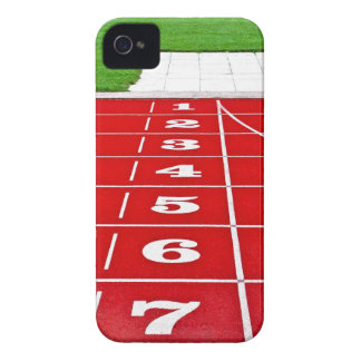 Running Lanes on the Track iPhone4 Case-Mate ID
