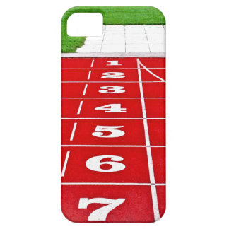 Running Lanes on the Track  iPhone 5 Case-Mate iPhone SE/5/5s Case