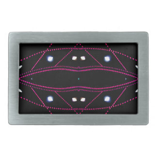 Running Lights - Living Urban Futurism Belt Buckles