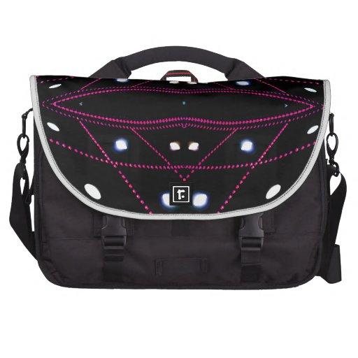Running Lights - Living Urban Futurism Laptop Bag