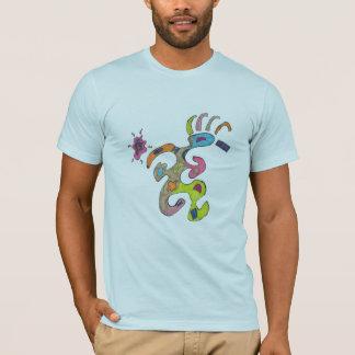 Running Man, Abstract T-Shirt