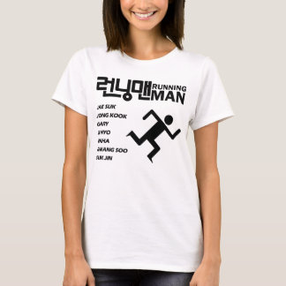 Running Man Crew Tee - Ladies