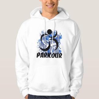 Running Man Parkour Hoodie