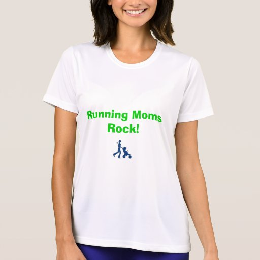 Running Moms Rock T-Shirt