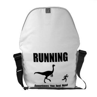 Running Motivation Courier Bag