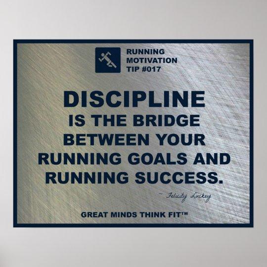 Running Motivation Tip #017 Poster