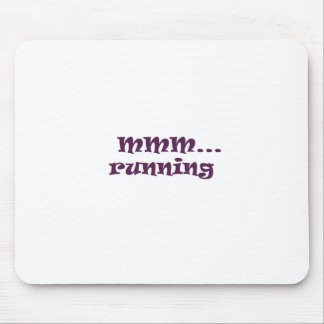 running mouse pad