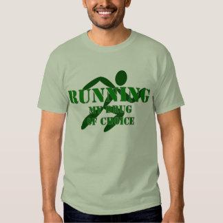 Running My Drug Of Choice Tshirts