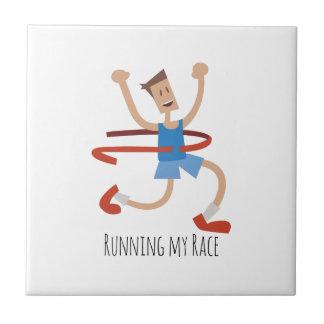 Running My Race Tile
