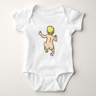 Running Naked Baby Bodysuit