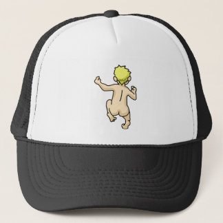 Running Naked Trucker Hat
