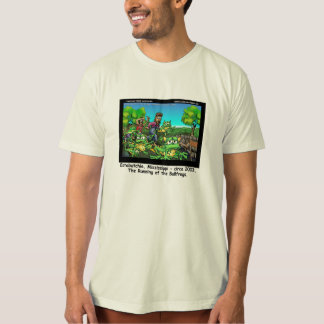 Running Of The Bullfrogs 100% Organic MensTees T-Shirt
