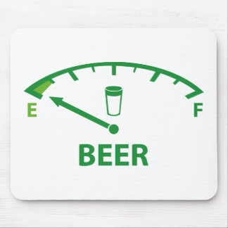 Running On Empty : Beer Mouse Pad