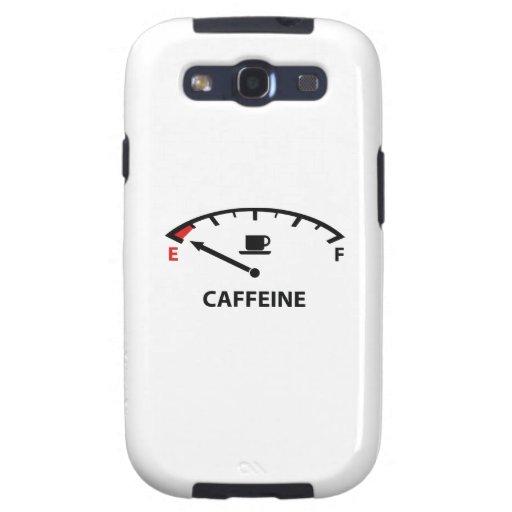 Running On Empty : Caffeine Galaxy SIII Cases