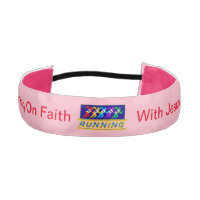 Running On Faith Athletic Headband