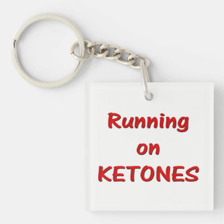 Running On Ketones Key chain