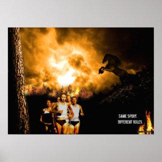 Running Origins Poster