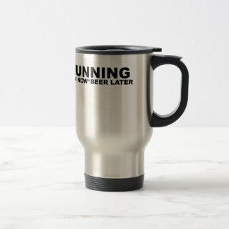 Running Pain Now Beer Later T-Shirts.png Travel Mug