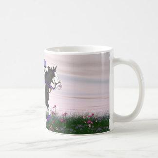 Running Paint Horse Coffee Mug