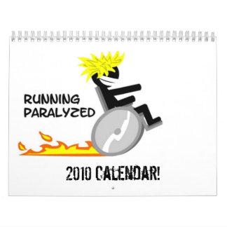 Running Paralyzed Calendar