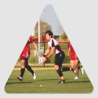 Running Pass Triangle Sticker