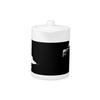 Running Pegasus Silhouette Teapot