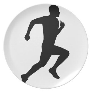 Running Party Plate