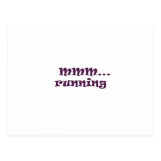 running postcard