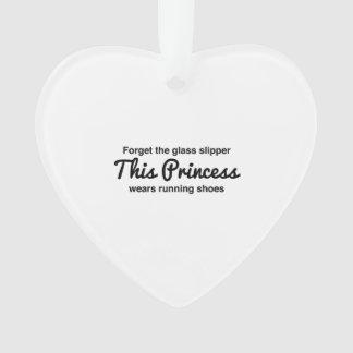 Running Princess Ornament