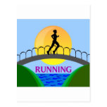 RUNNING PRODUCTS POSTCARD