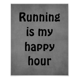 Running Quote Poster