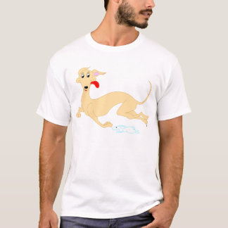 Running Rabbit and Greyhound T-Shirt