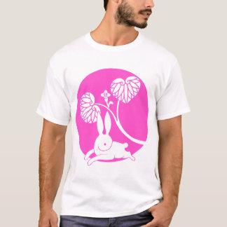 Running rabbit reversed (pink) T-Shirt