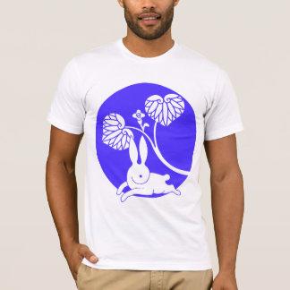 Running rabbit reversed (purple) T-Shirt
