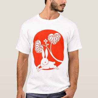 Running rabbit reversed (red) T-Shirt
