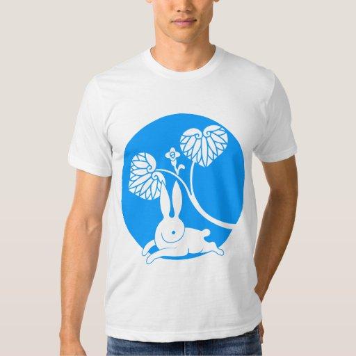 Running rabbit reversed (turquoise) T-Shirt