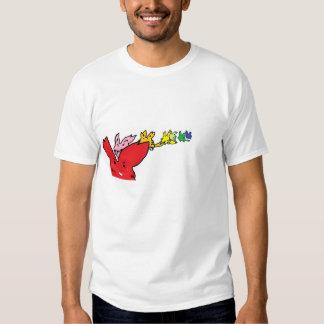 Running Rabbits Jogging T-shirts