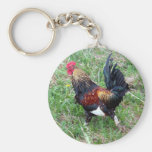 Running Rooster Key Chain