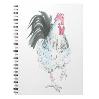 Running rooster notebook